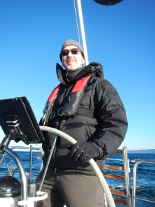 David Jade on S/V Dolce Vita