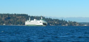 Bainbridge Island ferry to Seattle