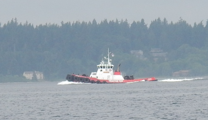 Puget Sound tug boat